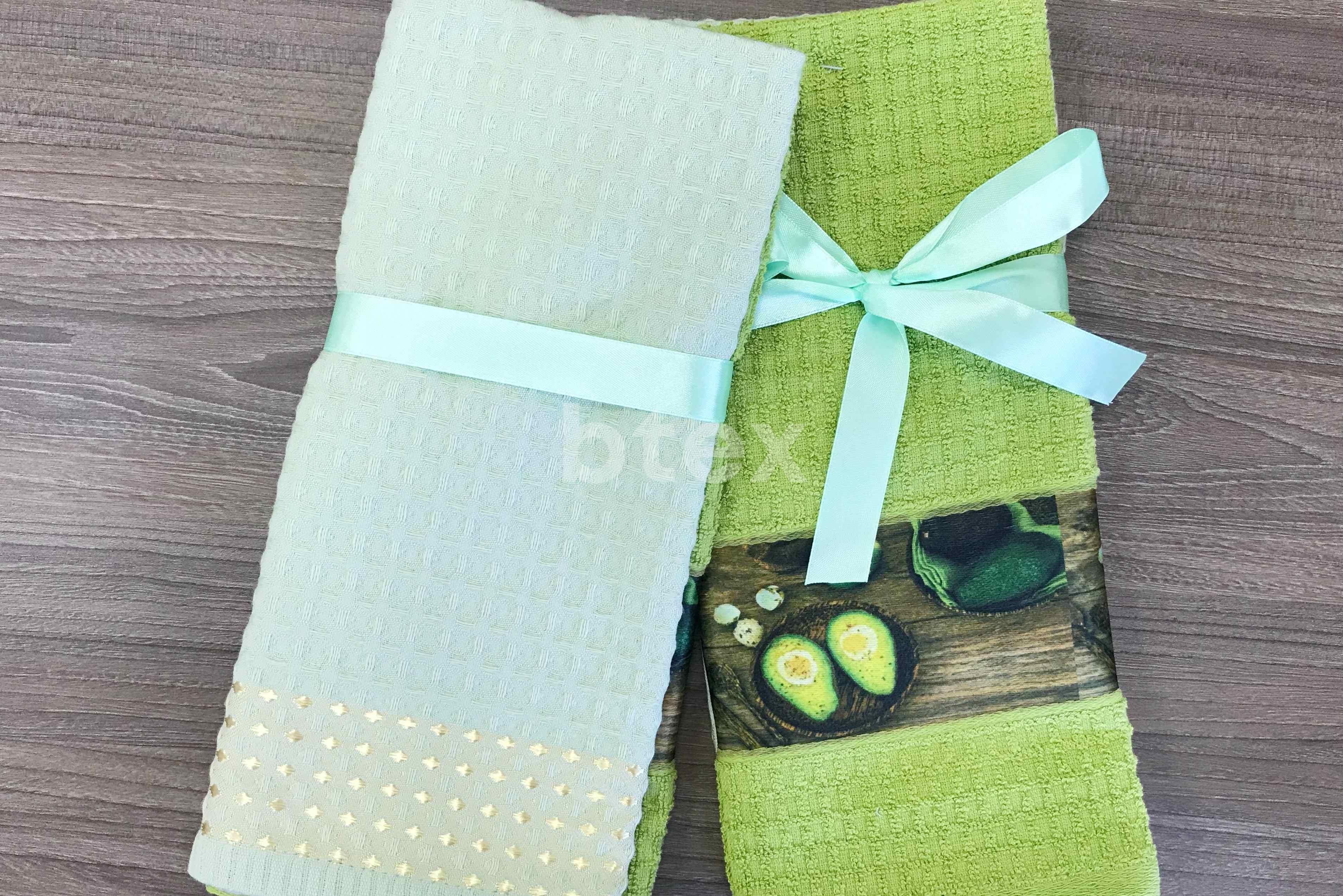 Подарочные кухонные полотенца фото-2