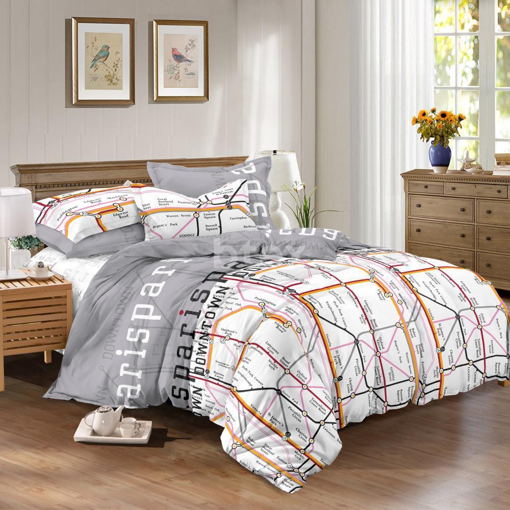 Комплект двухспальный Cатин фото-1