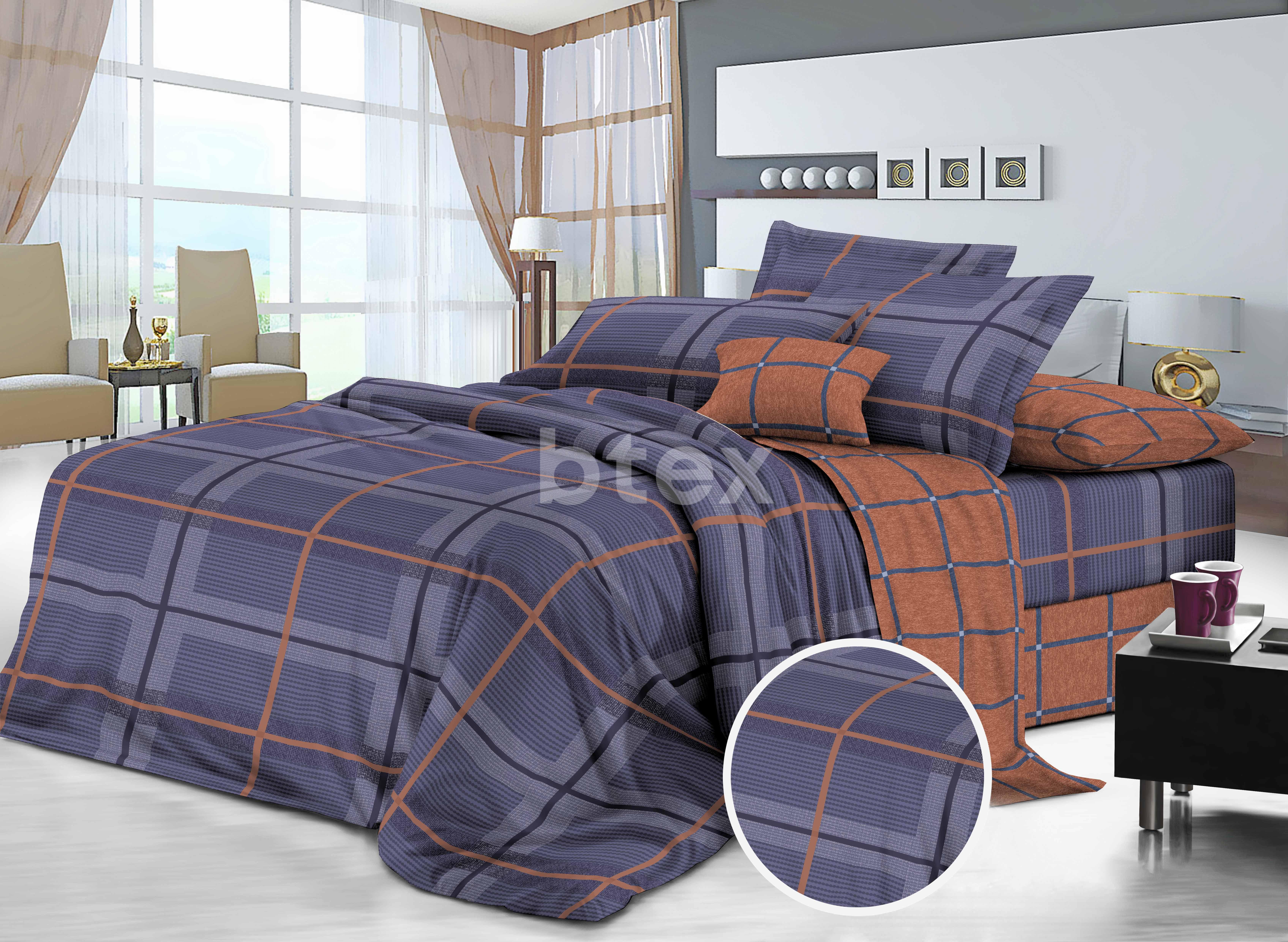 Комплект двоспальний Cатiн фото-1