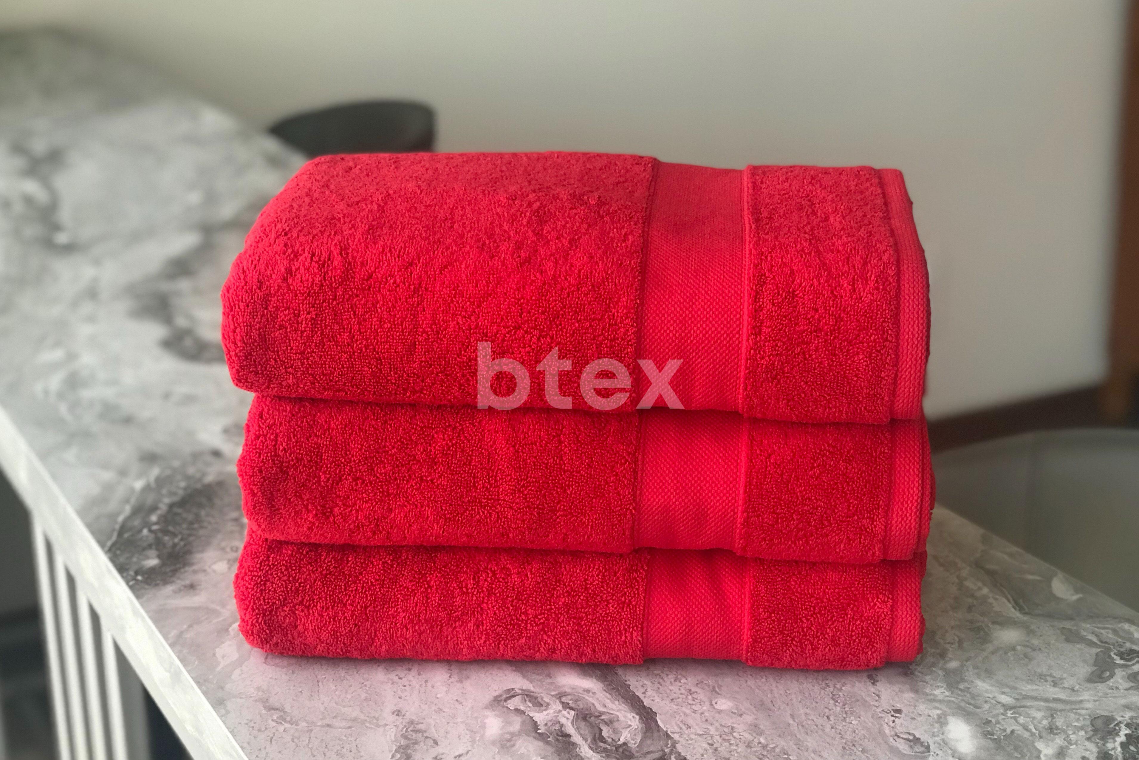 Банные махровые полотенца фото-1