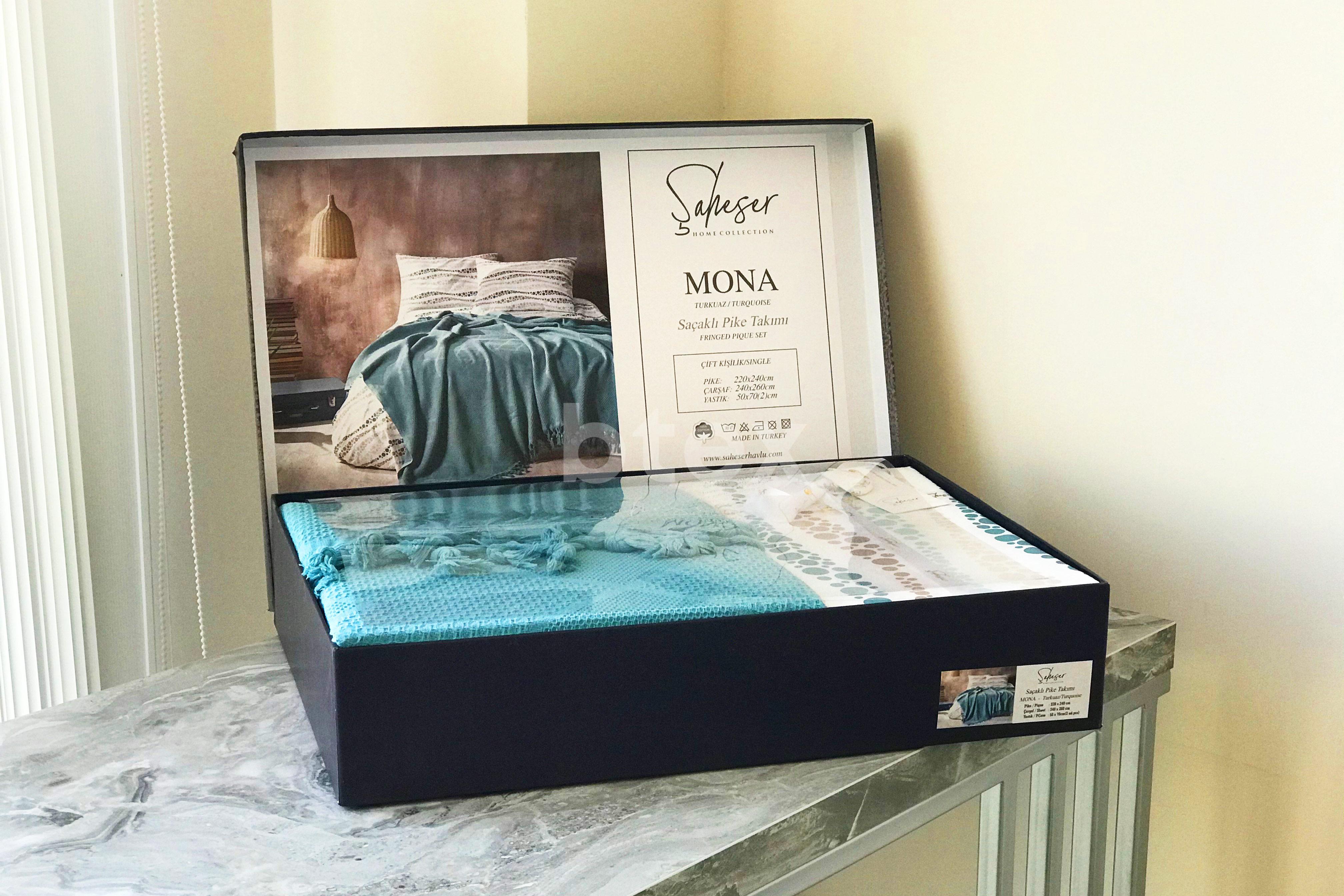 Комплект євро розміру в коробці Сатiн фото-2